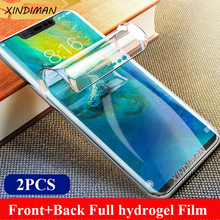 25D Full hydrogel film for huaweimate10 mate10pro mate10lite Soft screen protector for huaweimate20 mate20pro mate20lite mate20X цена