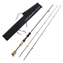 Captura. u ul/lspinning vara de pesca 2 dicas hastes de fiação 1.8m 0.8-5g peso isca 2-5lb linha peso isca carpa rotação pólo de pesca