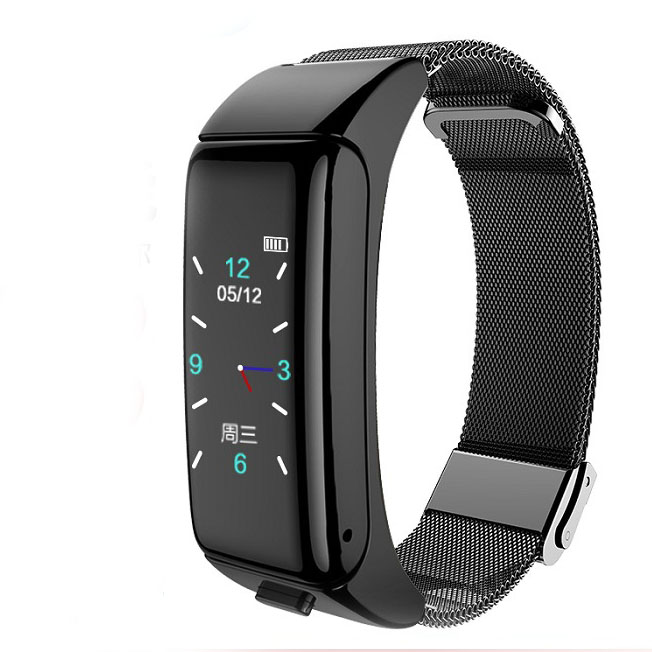 Mobile Phone Smart Bracelet Bluetooth Headset Two In One Heart Rate Blood Pressure Step Watch Smart Watches Aliexpress