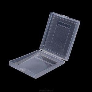 5x прозрачный пластиковый чехол для игрового картриджа, пылезащитный чехол для nintendo Game Boy Color GBC D28 20, Прямая поставка
