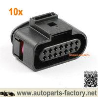 Longyue 14 pin Connector Plug 6X0973717 for AUDI VW Skoda VAG|Lamp Bases|   -