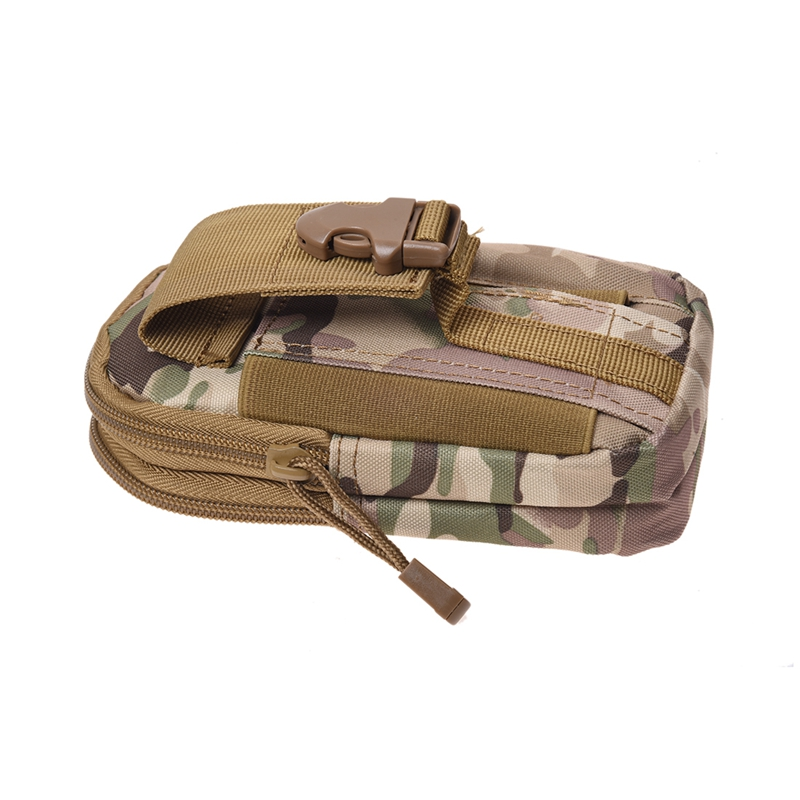 Molle Waist Bags Men's Outdoor Sport Casual Waist Pack Purse Mobile Phone Case For Phone Camouflage