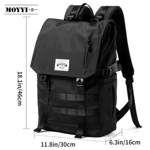 Image 3 - MOYYI Molle Shockproof Travel Backpack Men Travel Dairy Hangout Lightweight Large Capacity Male Mochila Anti Theft Backpacks