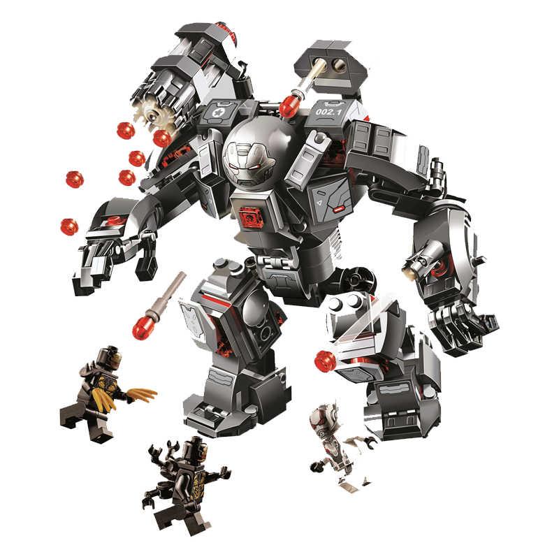 Marvel Avengers Endgame War Machine Buster Building Blocks Kit Bricks Classic Movie Model Kids Toys For Children gift