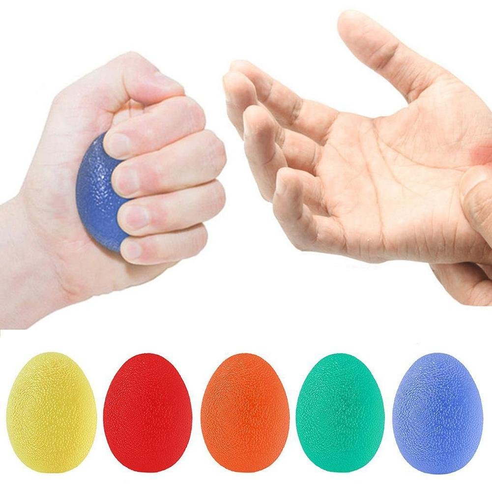 1PC Portable Finger Stretcher Grip Ball Silicone Relieve Stress Decompress Antistress Squeeze Toy Gift Finger Exercise
