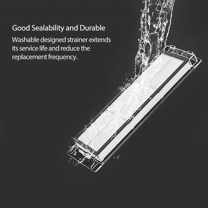 9PCS Robot Vacuum Cleaner HEPA Filters Main Brush Accessories for Xiaomi Roborock S4 S5MAX Robot Parts