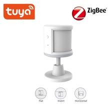 Tuya ZigBee PIR 센서 스마트 무선 WiFi PIR 모션 센서 배터리 전원 감지기 홈 알람 시스템 ifttt와 함께 작동