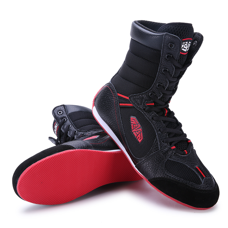 Original Athletic Shoes Mesh High Top Sneakers Mens Wrestling Boots Non-Slip Men Boxing Boot Breathable Big Boy Wrestling Boots