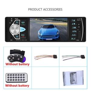 "Image 5 - AMPrime Autoradio 4022D 4.1"" 1 Din Car Radio Audio Stereo USB AUX FM Audio Player Radio Station With Remote Control Car Audio"