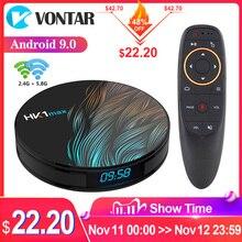 2020 Smart TV Box Android 9 9.0 HK1 Max 4GB 128GB Rockchip 4K TVBOX Youtube Wifi Android TV décodeur lecteur multimédia