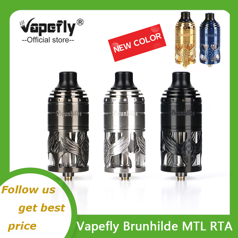 Vapefly Brunhilde MTL RTA 5ml Capacity E Cigarette Atomizer With 6 Levels Airflow Control Vape Vaporizer Vs Zeus X