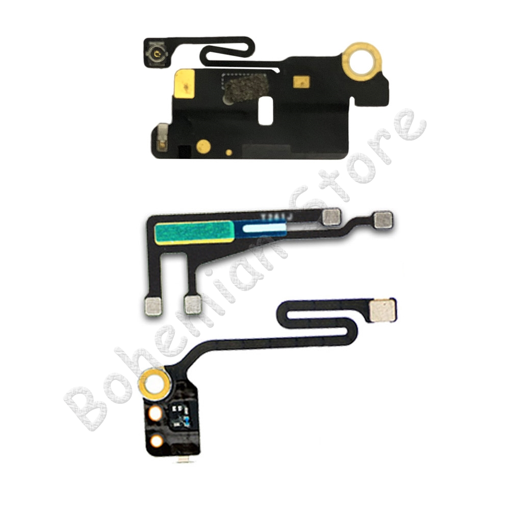 Galleria fotografica Wifi Bluetooth NFC WI-FI GPS Signal Antenna Flex Cable Cover For iPhone 6 6s Plus 5 5S SE 5C Original Spare Parts