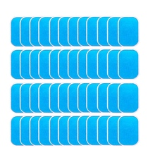 40Pcs Abs Stimulator Trainer Replacement Gel Sheet Abdominal Toning Belt Muscle Toner Ab Trainer Accessories массажер 2010 abs ab flex