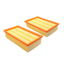 2 stuks Air FilterFor KARCHER NT25/1 NT35/1 NT45/1 NT55/1 NT361 ECO NT561 ECO NT611 ECO Vervanging Filters Olie Proof