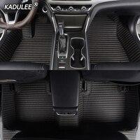 حصائر سيارة مخصصة من KADULEE لميني كوبر R50 R52 R53 R56 R57 R58 F55 F56 F57 كونتري مان R60 F60 ملحقات سيارة صغيرة واحدة