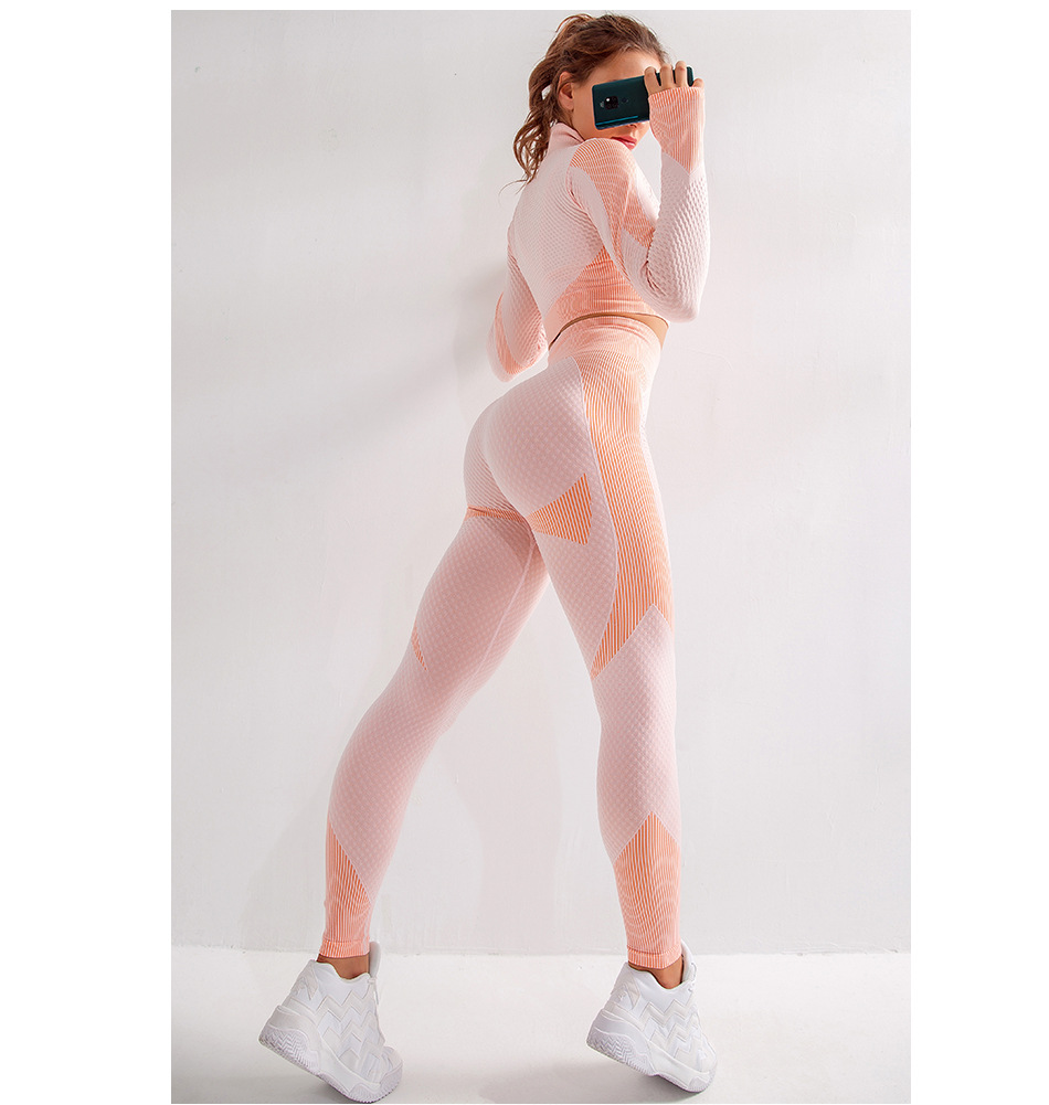 Suits yoga outfit  (3)