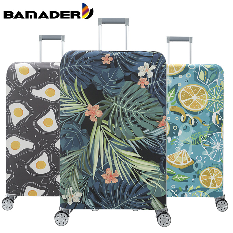 BAMADER Luggage Dust Cover Thicken Wear-resistant Baggage Cover Waterproof Suitcase Cover Cotton Material Suitcase Accessories