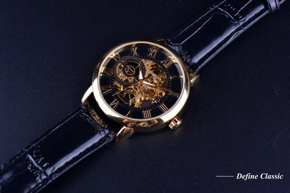 H427c03a59f7040d8a508cde2628ee40bb Forsining 3d Logo Design Hollow Engraving Black Gold Case Leather Skeleton Mechanical Watches Men Luxury Brand Heren Horloge