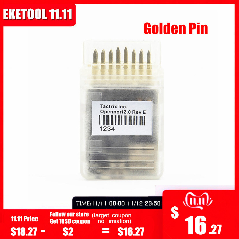 Openport 2,0 J2534 ECU Flash-Chip Tuning Interface Taxtrix Openport 2,0 ECUFLASH Mit Volle Software Neue PCB Goldene Pin Adapter