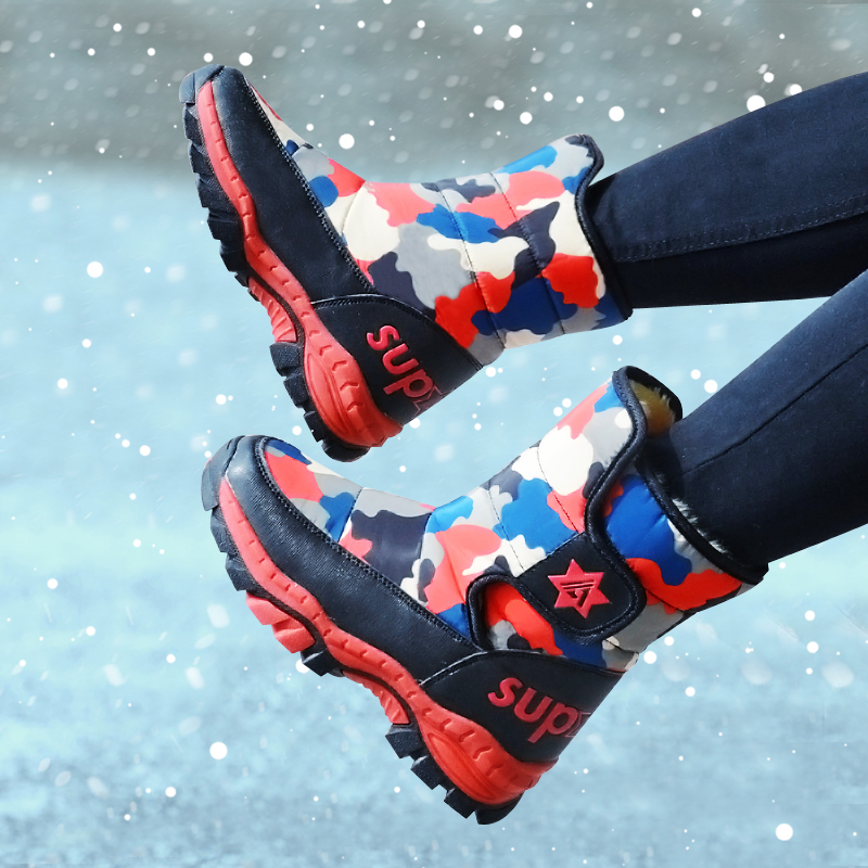 2019 Winter Children Boots Boys Snow Boots Girls Sport Children Shoes For Boys Sneakers Fashion Child Shoes Kids Boots