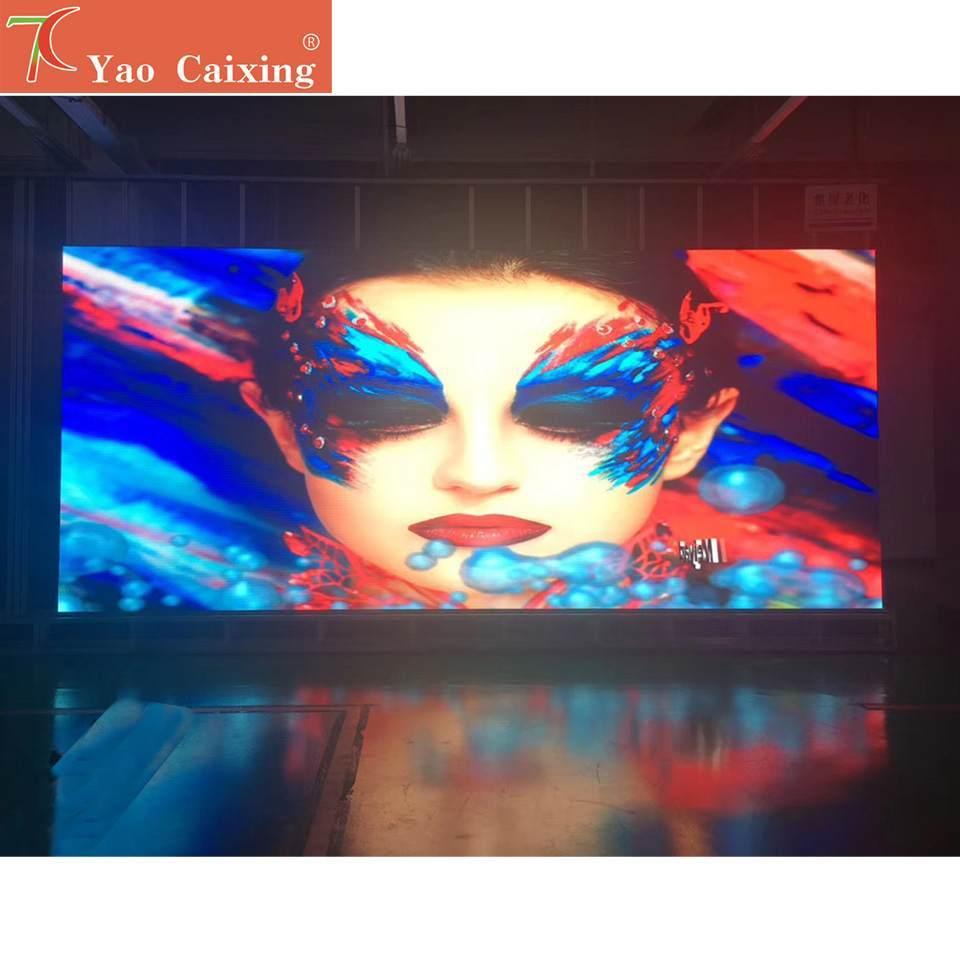 SMD2121 rgb P1.8 Крытый 4k Высокое разрешение 480*480 мм светодиодный экран hub75 точечная матрица алюминиевый шкаф светодиодный дисплей ТВ Видео стена
