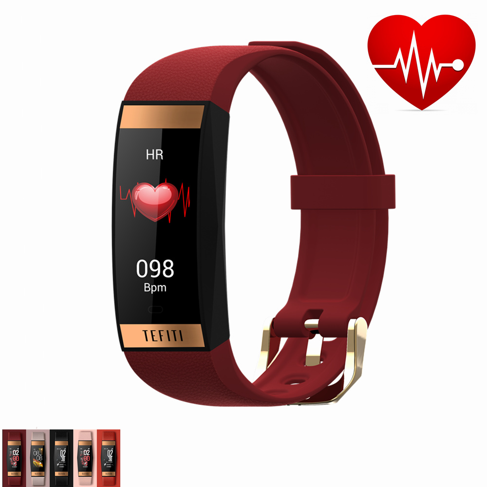 Blood Pressure Pulse Monitor Sport Wristband Clock For Man Women IP68 Swimming Touch Health Bracelet Heart Rate Smartwatch 11.11