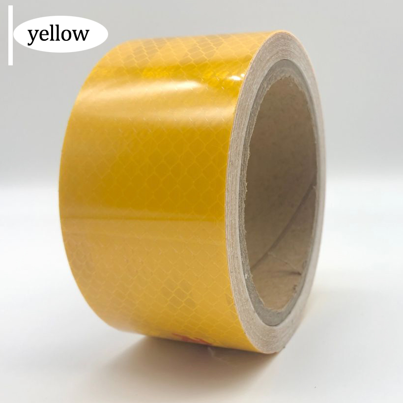 PET Reflective Strips Car Stickers Car-styling Motorcycle Decoration Automobiles Safety Warning Mark Tape
