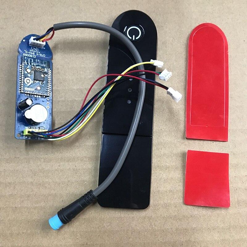 Para Xiaomi M365 Scooter Painel Mihome Aplicativo BT M365 Placa de Circuito da Placa de Circuito com Cobertura De Tela Para Xiaomi Scooter M365 partes