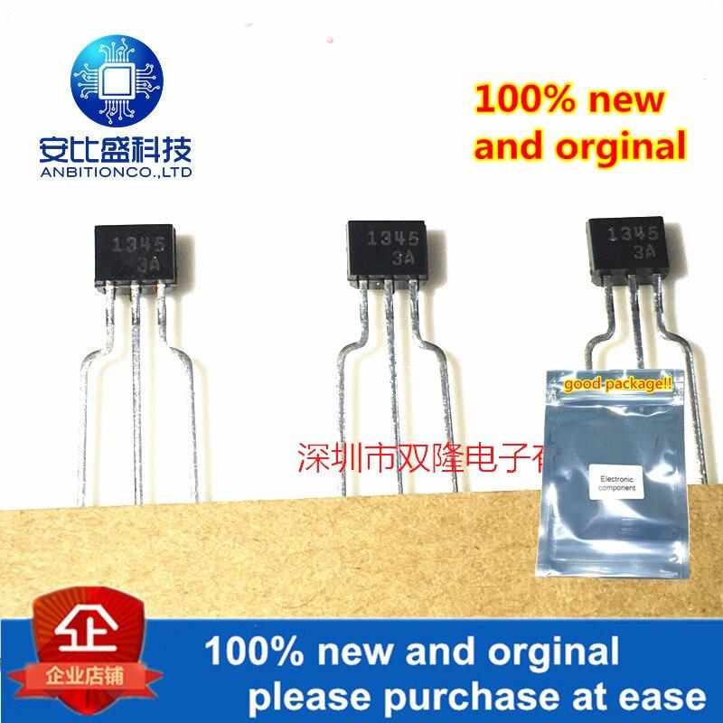 10pcs 100% New And Orginal 2SA1345 1345 TO92 PNP 0.1A 50V In Stock