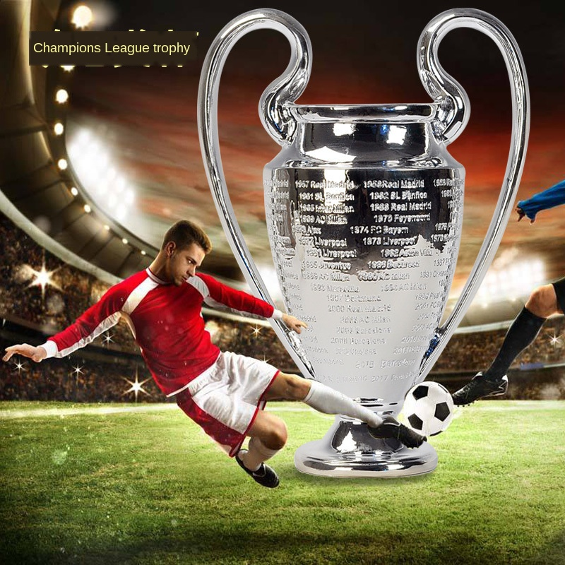 New European Champion Trophy Big Ears European Football League Football Trophy Fan Supplies Souvenir Crafts Decorations