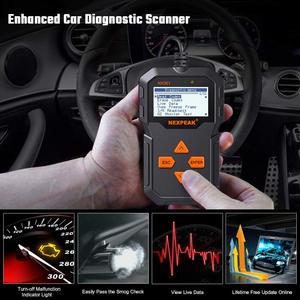 Image 2 - NX301 OBDII herramienta Universal de diagnóstico de automóviles lector de código Scanner herramienta de escáner de diagnóstico OBD2 herramienta mejor que ELM327 AD310