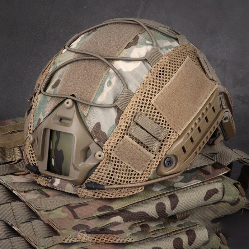 Страйкбол охота Helme тактический военный боевой шлем Крышка Wargame спортивный шлем Чехол для Ops-Core Тип Быстрый Шлем
