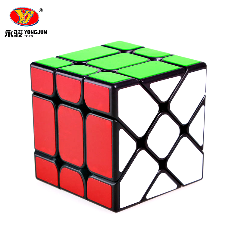 New Yongjun YJ Fisher 3x3x3 Magic Speed Cube Professional Puzzle Cubo Magico With Frosted Sticker Learning Educational Toys