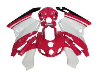 ABS Injection Fairing Kit for Ducati 749 999 2005 2006 Red White
