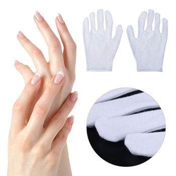 1Pair Skin Care Exfoliating Hand Mask Soften Skin White Moisturizing Anti-drying Nourishing Spa Gloves M89F
