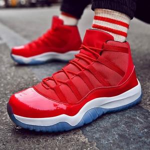 Image 4 - גברים של נעלי ספורט החלקה לנשימה קל משקל נוח סניקרס נעלי 2020 אופנה נעלי כדורסל נוער סניקרס
