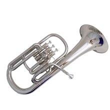 Поршни альтгорн с ABS случае мундштук Eb альтгорн s Музыкальные инструменты желтый латунь никелированный