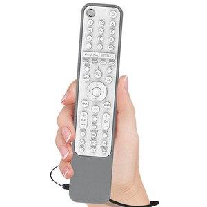 Image 2 - סיליקון מקרה עבור Sony RMF TX600U TX600E RMF TX500E חכם טלוויזיה קול שלט רחוק עמיד הלם מגן כיסוי עם מרחוק SIKAI