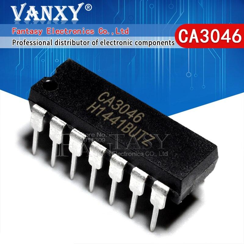 10pcs CA3046 DIP14 CA3046E DIP-14 3046E DIP new original