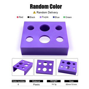 Image 2 - 6/7/8 Holes Pigment Container Stand Tattoo Accessories Supplies tattoo Permanent makeup Ink Cup Holder IBCH024