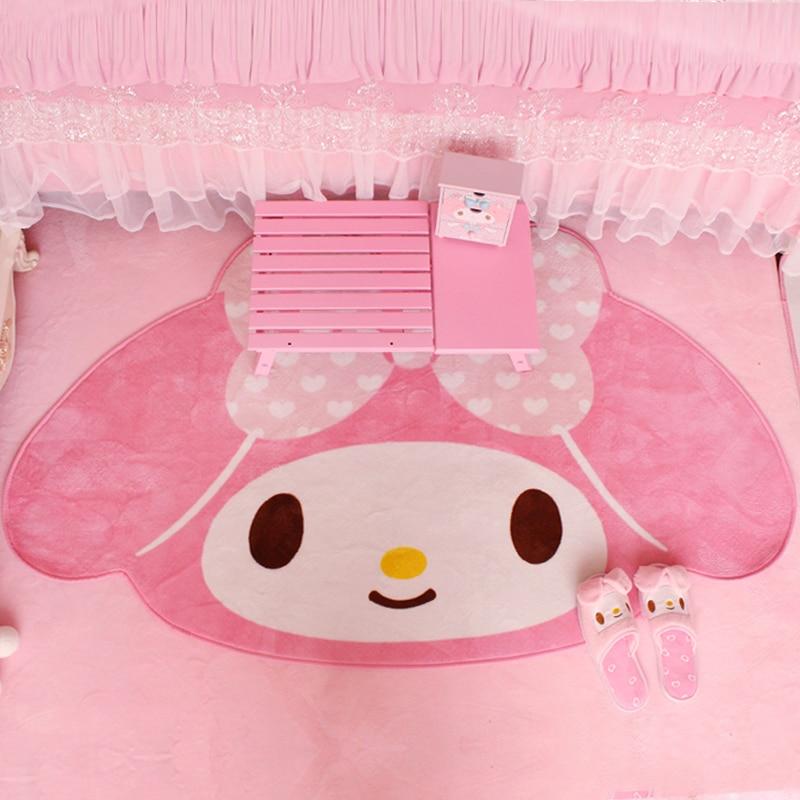 New Cute Cartoon My Melody Carpet Anime 100x160cm Home Soft Fur Rugs Children Girls Bedroom Living Room Floor Mat Doormat Decor Rug Aliexpress