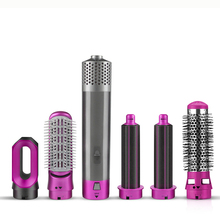 Brush Hot-Air-Hair-Brush-Kit Electric-Hair-Dryer Hairstyling-Tools Comb Blow-Dryer 5-In-1