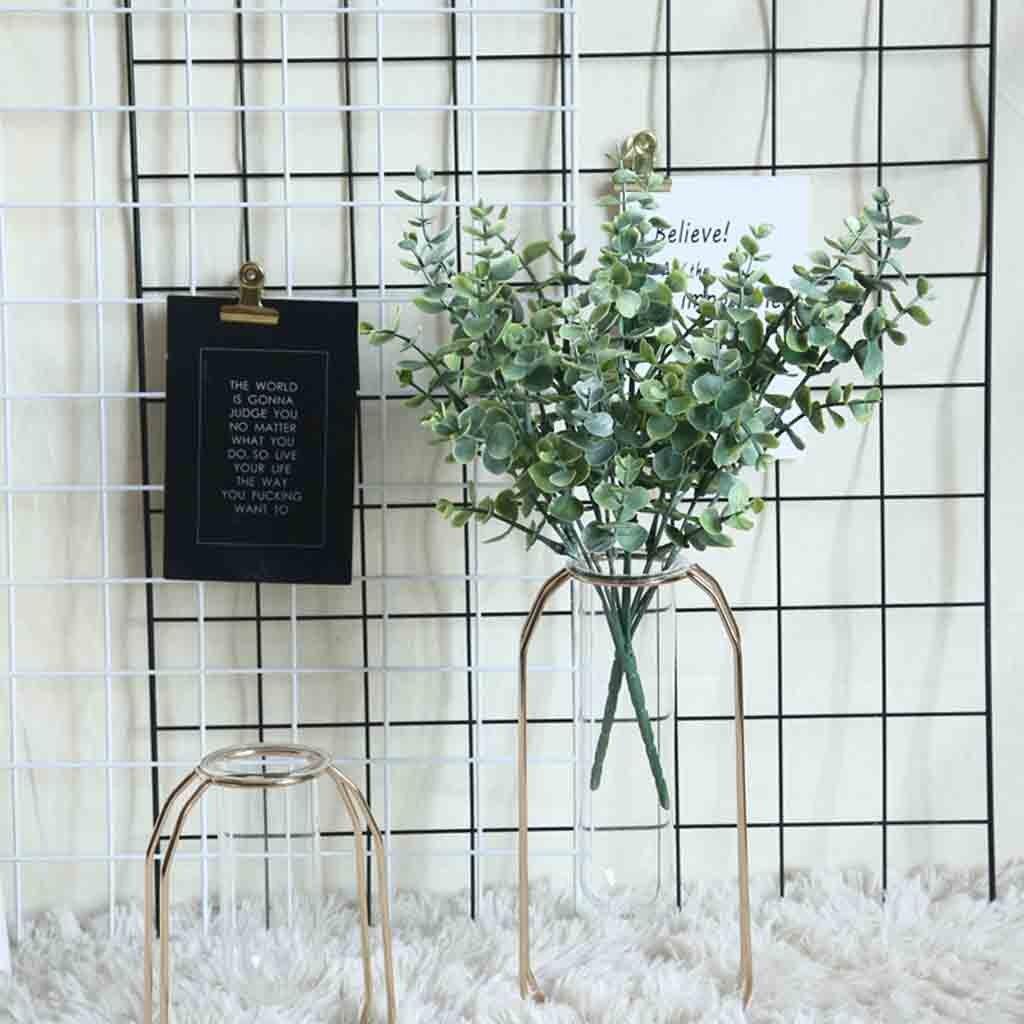 Hochzeit Dekoration Tropical Künstliche Gefälschte Seide Eukalyptus Grüne Pflanze Blumen Hochzeit Home Garten Decor Party Tisch Dekor # ND