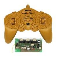 Máquina escavadora rc 2.4g 12ch controle remoto placa de circuito receptor sistema rádio kit transmissor peças de reposição para carro/barco