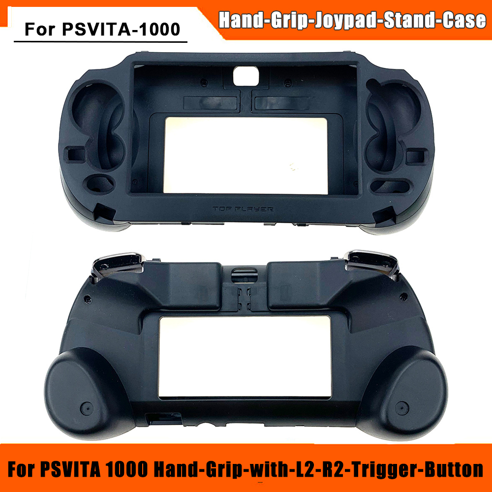 2020 Newest Replacement Hand Grip Joypad Stand Case with L2 R2 Trigger Button For PSVita-1000 PS VITA PSV1000 1000 Game Console