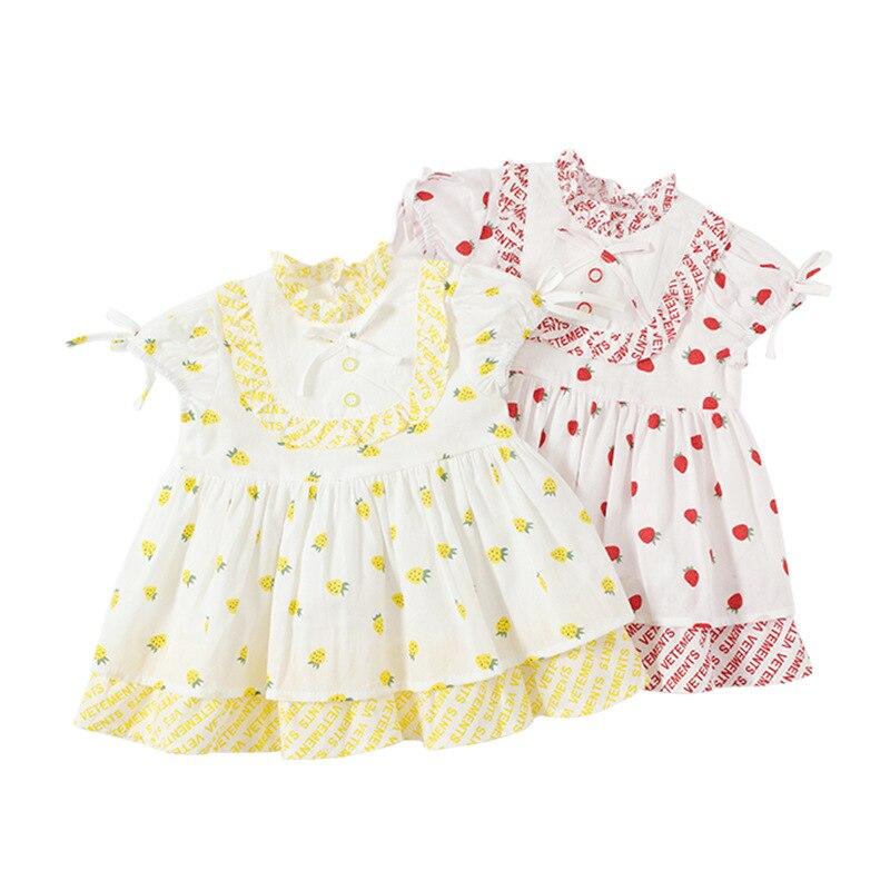 Costume de princesse mode été bébé fille vêtements à pois courts imprimé filles robe de soirée vêtements de noël