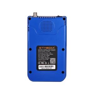 Image 3 - GTmedia Satellite Finder Meter V8 Finder HD DVB S2 SatFinder 3.5 pollici colore con 3000mA batteria Freesat V8 Finder FTA Sat finder