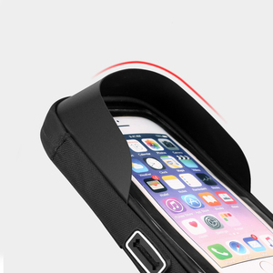 Image 4 - 6.4 inch Waterproof Bicycle Phone Holder Stand Motorcycle Handlebar Mount Bag Cases Universal Bike Scooter Cell Phone Bracket