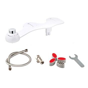 Неэлектрическая ванная комната механическое биде туалет гинекологическое моющее сопло сиденье с двойной опрыскиватель пресной воды