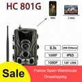 HC-801G 3G caméra de chasse Multiple 16MP 1080P vidéos Full HD caméra de traînée mégapixels étanche 940nm caméras led infrarouges